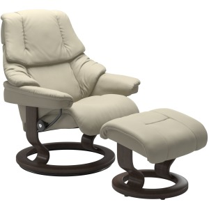 Reno (M) Classic chair with footstool