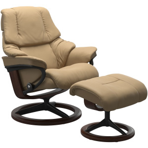 Reno (M) Signature chair with footstool
