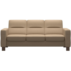 Wave (M) 3 Seater Low Back Sofa