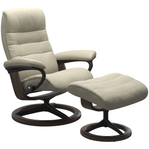 Opal (L) Signature chair with footstool