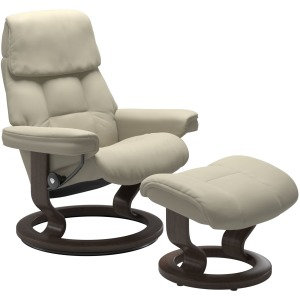 Ruby (M) Classic chair with footstool