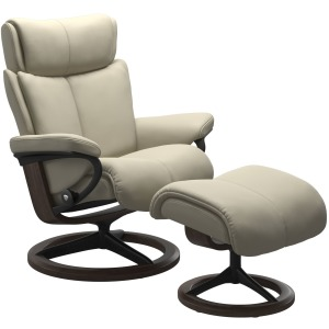 Magic (S) Signature chair with footstool