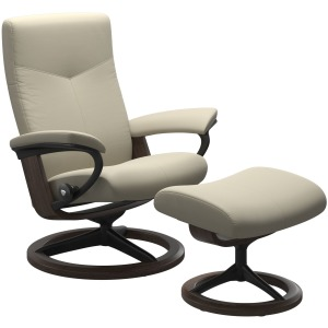 Dover (L) Signature chair with footstool