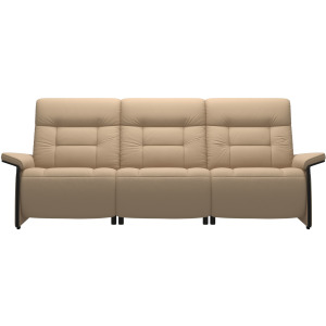 Mary 3 Seater - Wood Arm