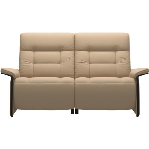 Mary 2 Seater with Left motor - Wood Arm