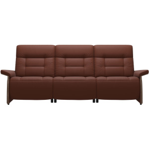 Mary 3 Seater with 2 Motors - Wood Arm