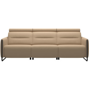 Emily 3 Seater - Steel Arm