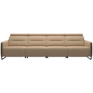 Emily 4 Seater with 2 Power PDDP - Steel Arm