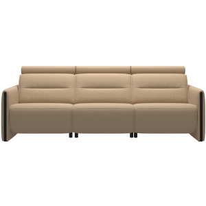 Emily 3 Seater - Wood Arm