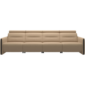 Emily 4 seater with 2 Power PDDP - Wood Arm