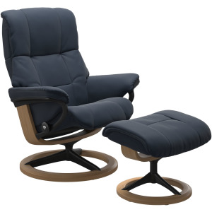 Mayfair (M) Signature chair with footstool