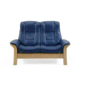 Stressless Windsor High Back 2 Seater Medium