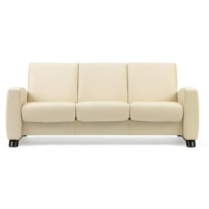 Stressless Arion Low Back 3 Seater Medium