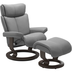 Magic Large Classic Chair w/Footstool