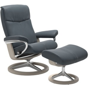 Peace Signature Chair w/Ottoman - Large