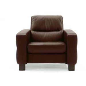 Stressless Wave Low Back 1 Seater Medium