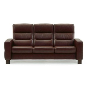 Stressless Wave High Back 3 Seater Medium