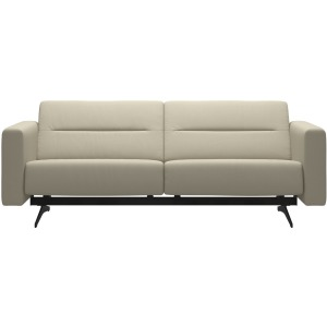 Stella 2.5 Seater Sofa - Paloma Light Grey & Matte Black