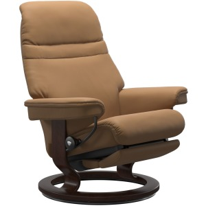 Sunrise Medium Classic Power Leg & Back - Paloma Taupe w/Brown