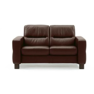 Stressless Wave Low Back 2 Seater Medium