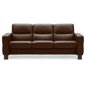 Stressless Wave Low Back 3 Seater Medium