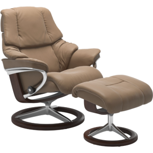 Reno Large Signature Chair w/Footstool