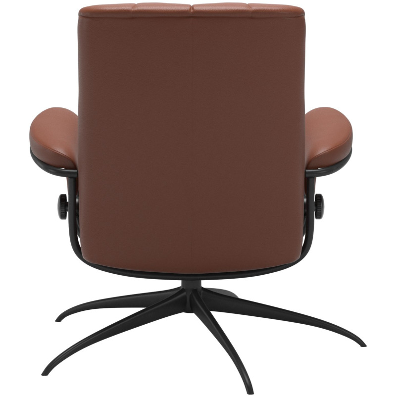 London chair Low back with standard Base