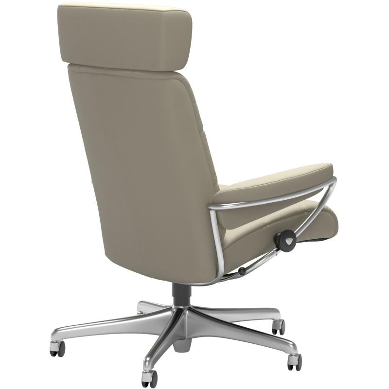 London Office with adjustable headrest