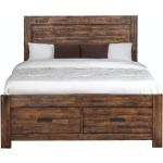 Warner King Storage Bed