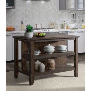 Stone Charcoal Kitchen Island