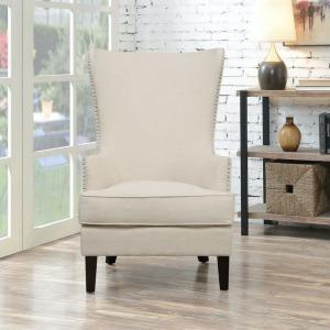 Kori Chair w/Chrome Nails - Heirloom Natural