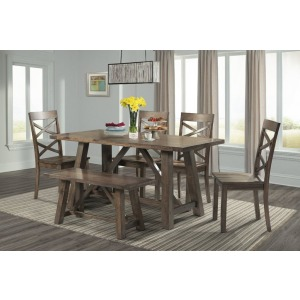 "Renegade 64"" 6 PC Dining Set"
