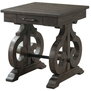 Stone Square Side Table