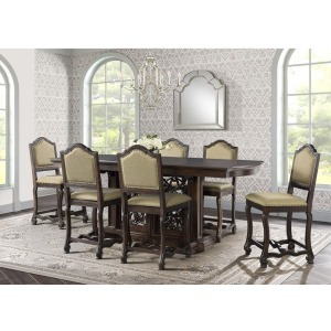 Chesley 7 PC Counter Dining Set