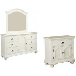 Brook 3PC Bedroom Set - White