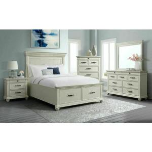 Slater 3PC Queen Bedroom Set - White