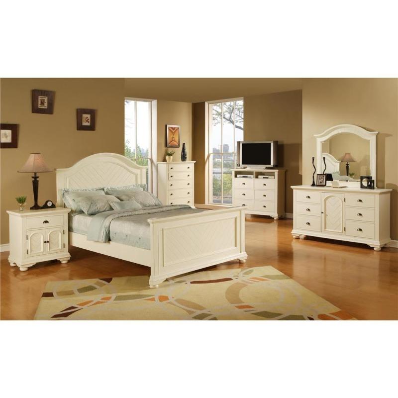 Brook White Dresser