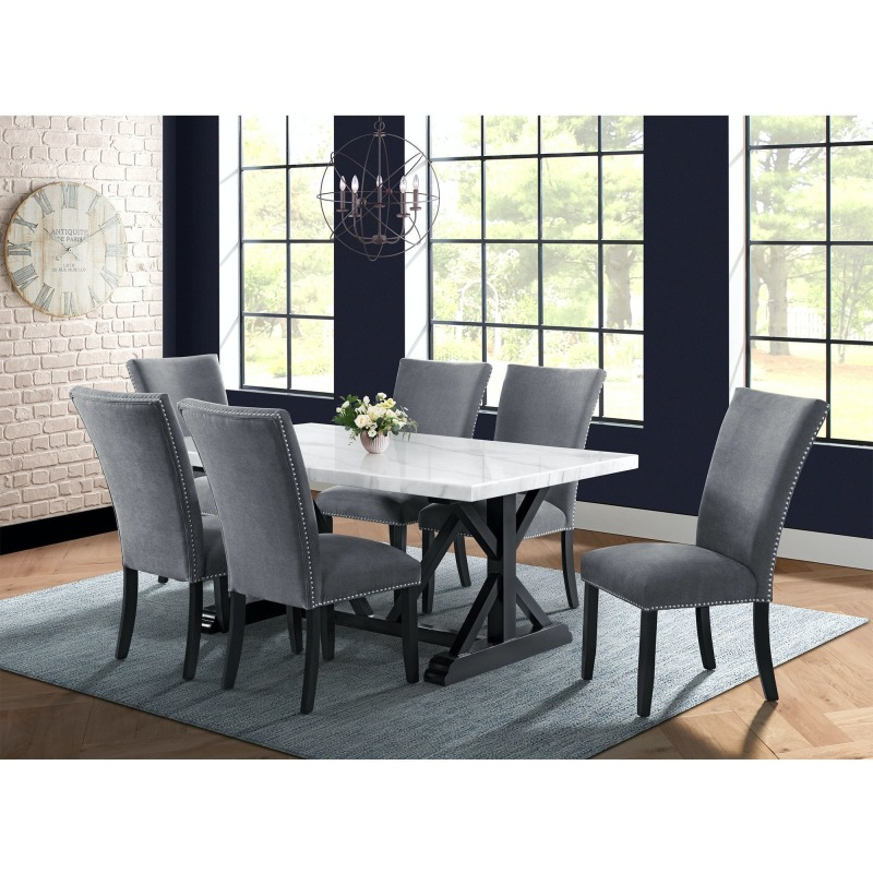 tuscany 7pc dining table 6 chair set in charcoal .jpg