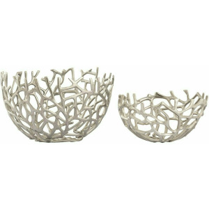 Coral Nesting Bowls - Set of 2