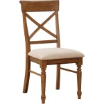 Side X Back Rta Chair Brown W/uph Seat