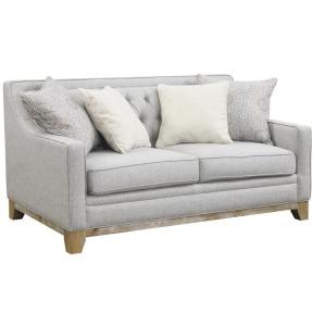 Jaizel Loveseat w/4 Pillows - Grey