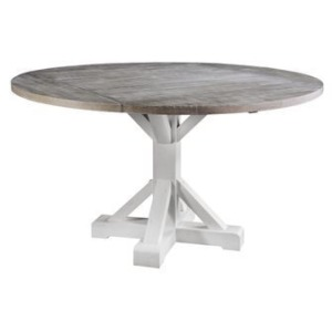 """Centerville 65"""" Round Gathering Table w/Drop Leaf"""