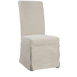 Parsons Chair Upholstered - White Linen