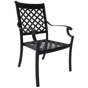 Cast Dining Chair W/cushion Spuncrylic #12026 (4/ctn)
