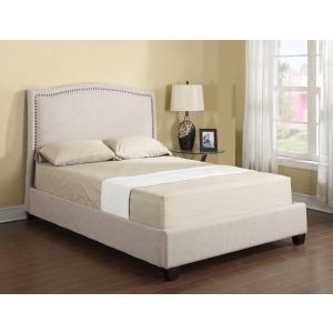 Headboard/footboard/rails/slats King Upholstered Bed Kit