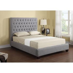 Headboard/footboard/rails/slats Kit Queen Upholstered