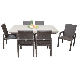 Aluminum Top Folding Side Table