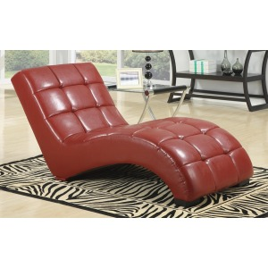 Chaise-red