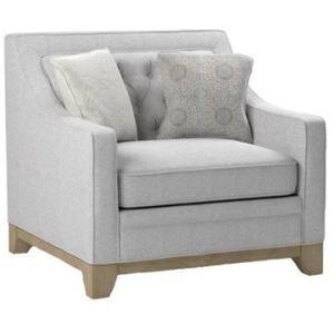 Jaizel Chair w/2 Pillows - Grey