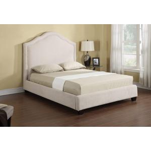 Headboard/footboard/rails/slats Kit Queen Upholstered Bed